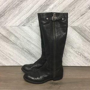 Franco Sarto | Panko Black Tall Riding Boots 7.5